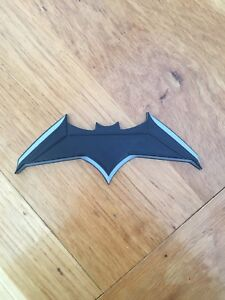 Batarang Cosplay Prop Black And Silver 3D Printed