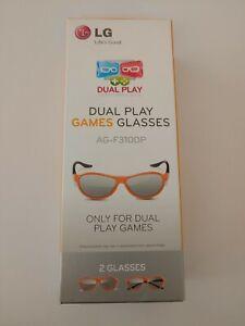 LG Original AG-F310DP 3D glasses pair 2 pieces