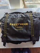 58 X 52 Travel Picnic Blanket Hollywood Casino Fleur De Lis w/strap Plush Lined