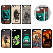 Estuche/Cubierta Protectora para iPhone 5 SE 6s 7 8 XS 11 PRO MAX PLUS Xr/Mandalorian