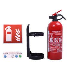 Autofeuerlöscher GP-1z ABC 1 kg + Halterung (Aufladelöscher) Pulver-Feuerlöscher