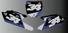 YAMAHA YZF 2014/2015 MOTOCROSS BACKGROUNDS NUMBER BOARD GRAPHICS-STICKERS-DECAL