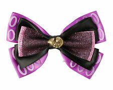 Disney Little Mermaid URSULA Shell Ribbon Bow Tie Hair Clip Pin Costume Dress Up