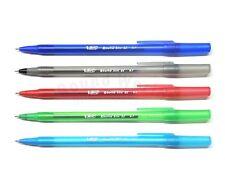 5pcs BIC Round Stic EZ 5-Colour Ballpen Fashion Color Ball Pen in Bulk Pack