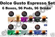 Set Dolce Gusto Espresso, Ristretto, ALLA ROTONDA D'ARDENZA, Barista, intenso, Cortado 96 DRINK