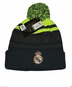 real madrid beanie hat soccer official new season authentic gorro licensed grey