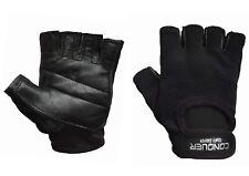 Kraftsport Trainings Fitness Handschuhe Kraftsporthandschuhe Leder S - XXL