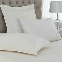 CONTINENTAL PILLOWCASES Pair From GREAT KNOT HOTEL QUALITY 400 THREAD COUNT