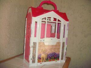 Barbie Puppenhaus, sehr guter Zustand - Mattel - Puppenkoffer