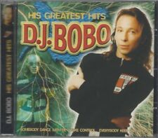 DJ BoBo - His Greatest Hits - CD Somebody Dance With Me, Take Control, Everybody