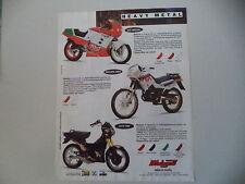 advertising Pubblicità 1991 MOTO MALAGUTI RST 50/ENDURO MRX/FIFTY TOP