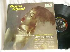ART FARMER & BENNY GOLSON Brass Shout Lee Morgan Ernie Royal Curtis Fuller UA LP