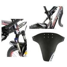Parafanghi nero anteriore e posteriore per biciclette Universale