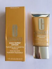 Clinique Even Better Refresh Hydrating & Repairing Makeup Foundation WN68 Brulee