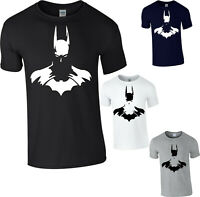 Batman T-Shirt SuperHero DC Comics Batman Logo Joker Gift Animated Series Top