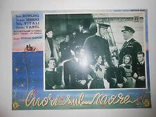 CUORI SUL MARE  fotobusta 1949  Marcello Mastroianni - Paolo Panelli.