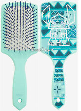 Disney Lilo & Stitch Blue Mint TIKI LARGE Paddle Hair Brush Polynesian Design