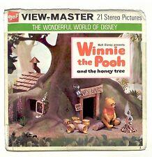 vintage GAF View Master WINNIE THE POOH reel set WALT DISNEY bear VIEWMASTER old