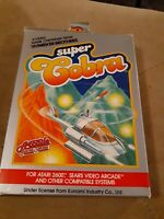 Super Cobra by Parker Brothers  for Atari 2600 CIB ▪︎▪︎▪︎▪︎ FREE SHIPPING ▪︎▪︎▪︎