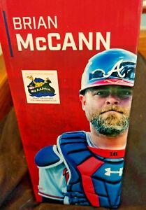 Brian McCann Rome Braves 2021 Bobblehead SGA Atlanta - NEW IN BOX