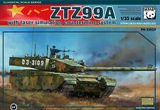 Panda Hobby 1/35 ZTZ99A Main Battle Tank w/Laser Simulation Countermine System