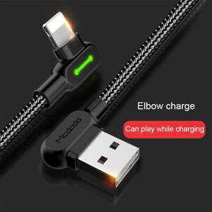 1.2M/1.8M/3M  USB Charger Cable Heavy Duty Braided For iPhoneX / XR / XS  iPad