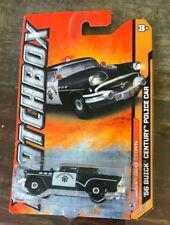 2012 Matchbox '56 BUICK CENTURY POLICE CAR - NIP - Old Town Series