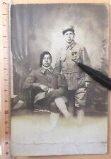 Photo Croix De Guerre Médaille Obilisch Serbie 119 RI 29 BCP Serbia