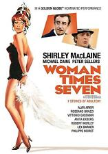 Woman Times Seven (DVD) Shirley MacLaine, Michael Caine, Peter Sellers NEW