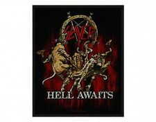 SLAYER hell awaits 2009 - WOVEN SEW ON PATCH official merchandise
