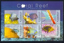 Dominica 2009 Corallo/Marino/NATURA/PESCE/conservazione 6 V M/S (n32453)