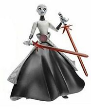 "Star Wars Cartoon Network Asajj Ventress 3.75"" Action figure damaged card"