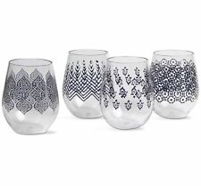 TAG - Henna Stemless Wine Glass, Choose Your Style (207094)