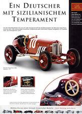 CMC pubblicitario pagina... Mercedes-Benz TARGA FLORIO 1924 in 1-18... GIORNALE visualizzazione