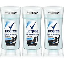 3 Pk Degree Women Ultra Clear Anti-Perspirant & Deodorant Pure Clean 2.6 oz Each