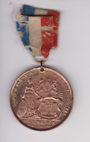 RARE. George V 1911 Coronation Medal Mayor of Stockton-on-Tees 1911.38MM..S.366