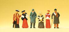 Preiser 12197 Spur H0 Figuren, Passanten in winterlicher Kleidung #NEU in OVP#