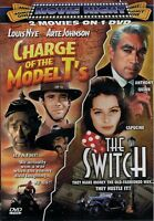 Charge of the Model T's / The Switch (DVD, 2007, Double Feature, Brand New)