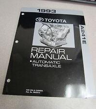 1993 Toyota MR2 A241E Automatic Transaxle Service Repair Manual