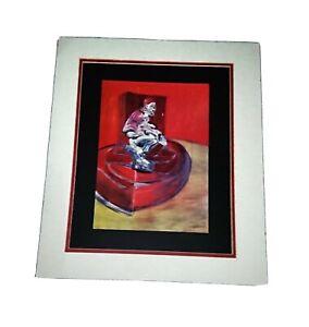 Picture, Framed Glazed Vintage Artwork Print, Francis Bacon.