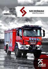 Scania Iveco Tatra MAN 2015 catalogue brochure Fire truck military English Int'l