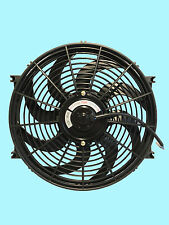"UNIVERSAL 14"" INCH 90W CAR RADIATOR FAN, 2 YEARS GUARANTEE, OEM MAKE, ISO9001"