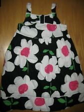 NWT Gymboree Daisy Park Size 5T Black White Daisy Flower Dress