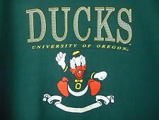 VTG Pullover Sweat Shirt  University Of Oregon Ducks USA MADE