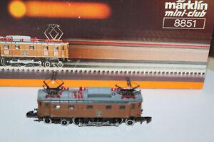 Märklin Z 8851 SBB E-Lok Ae 3/6 10460 - Top + OVP