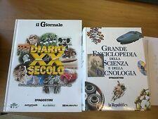 Grande enciclopedia della scienza e tecnologia + Diario del XX secolo (Giornale)