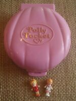 Vintage Polly Pocket Bluebird 1989 Polly's Cafe Compact Complete