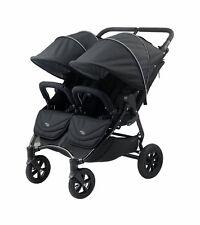 Valco 2016 NEO Twin Stroller in Night (Black Lightning) Brand New!! Double