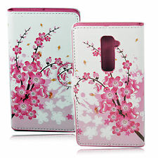 Pocket PU Leather Wallet Case Cover Card Slot Stand Pouch Holster For LG G2
