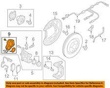 AUDI OEM 17-18 A4 Brake-Rear-Adjust Motor 8W0998281